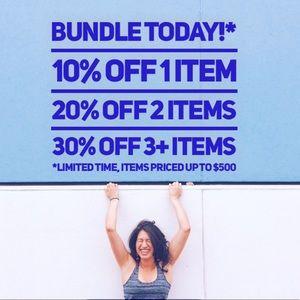 BUNDLE & SAVE up to 30%